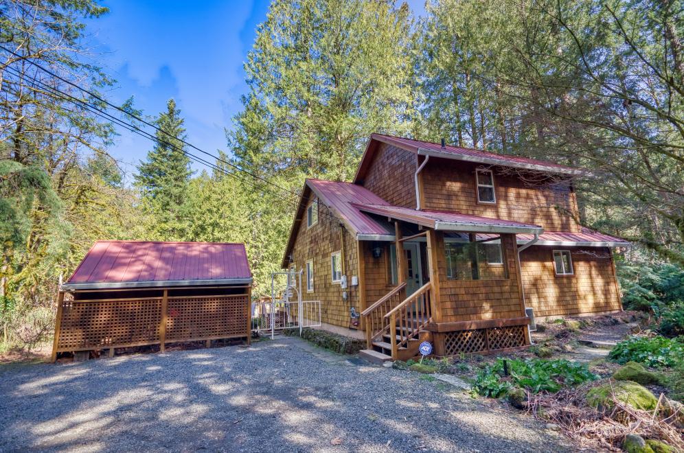 Salmon Riverfront Two Story Home