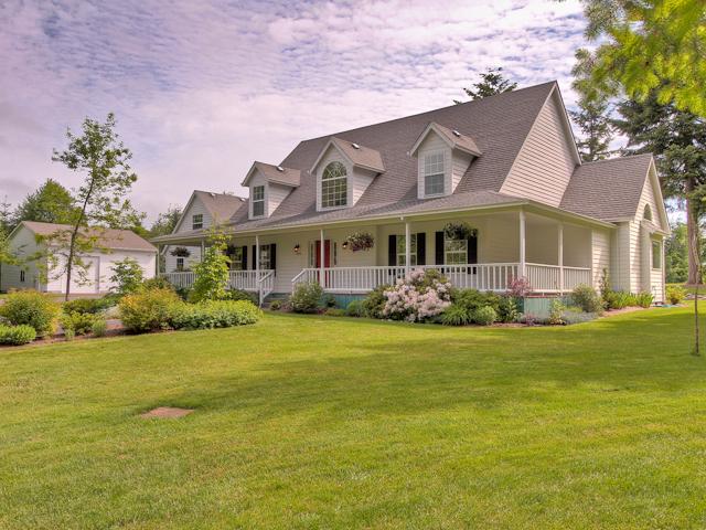 20 Acre Custom Home in Sandy Oregon