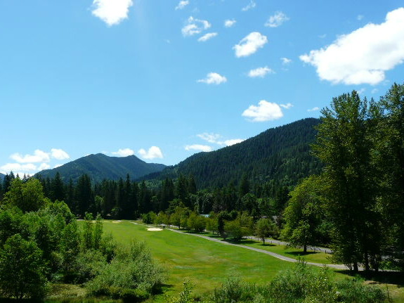 Resort at the Mountain golf course welches oregon