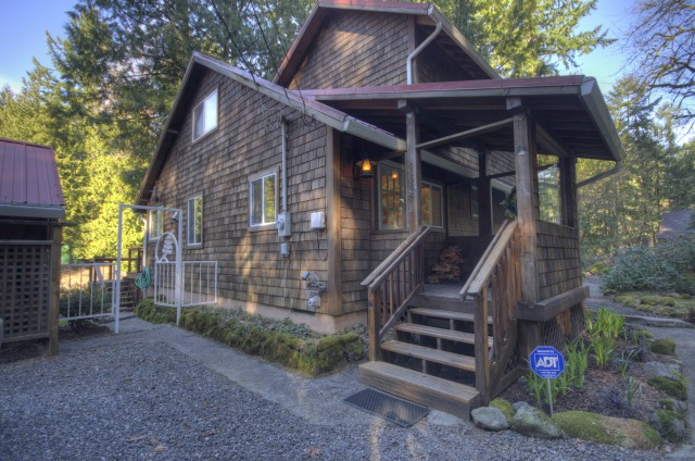 Salmon Riverfront Home for Sale on Mt. Hood