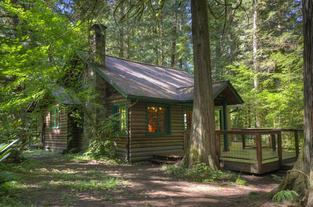 Mt. Hood Log Cabin in Rhododendron Oregon