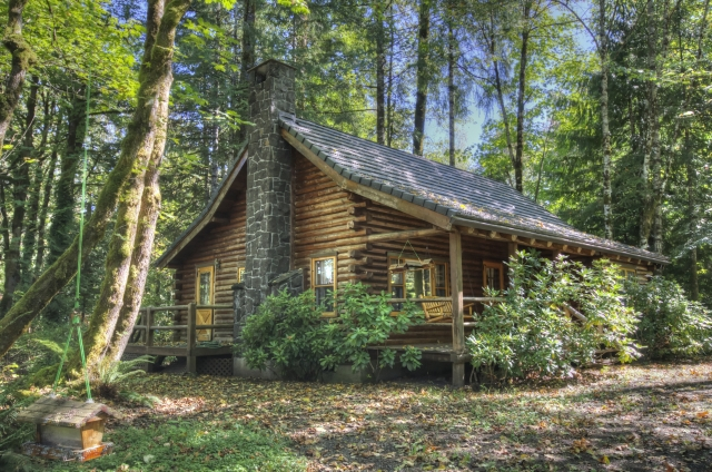 Timberline Rim Log Cabin