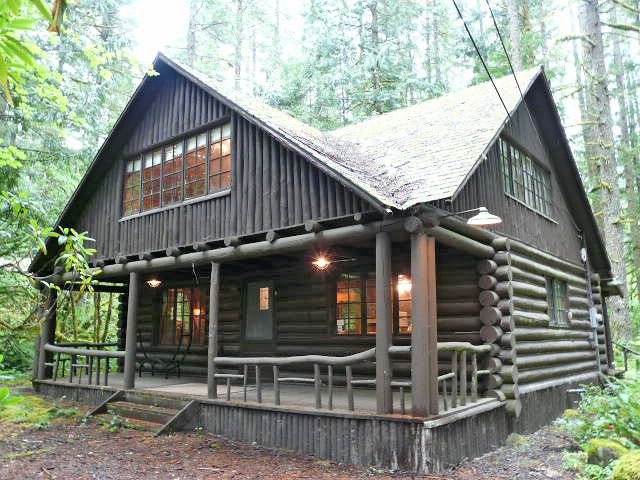 Steiner Log Cabin
