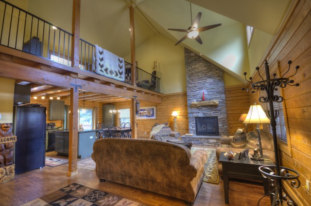 Custom Built Log Home in Rhododendron, Oregon near the Zig Zag River