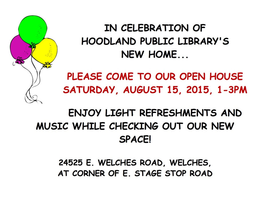 Welches Oregon Library Open House on Mt. Hood