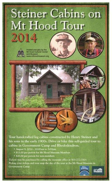 The Steiner Cabin Tour for 2014