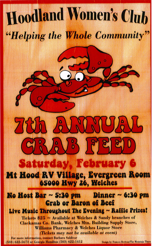 Hoodland Womens Club Crabfeed 2016