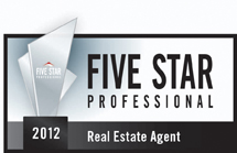 Five Star Professional Award for 2012