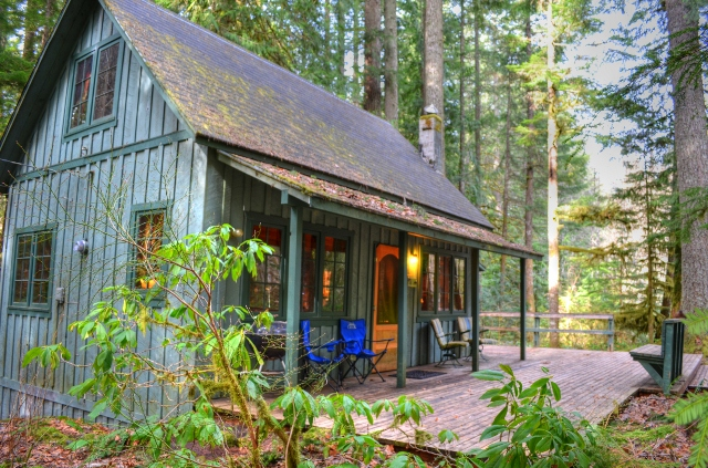Mt. Hood National Forest Cabin on Leased Land