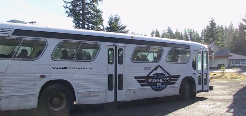 Mt. Hood Express Bus