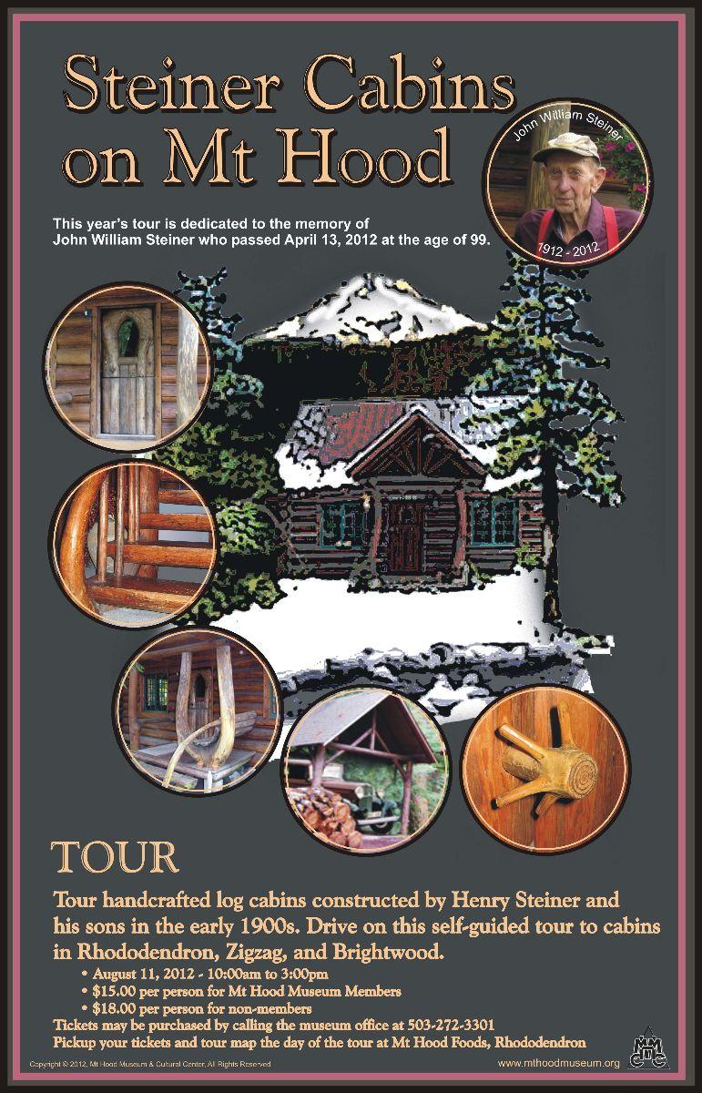 Steiner Log Home Tour on Mt. Hood