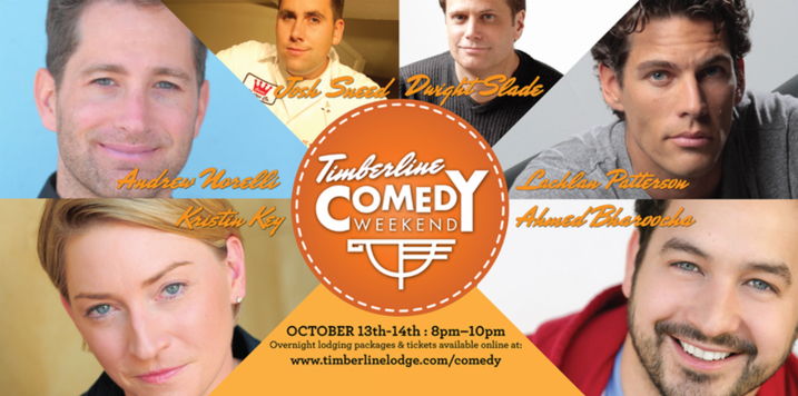 Timberline Lodge Comedy Weekend October 2017 in Government Camp