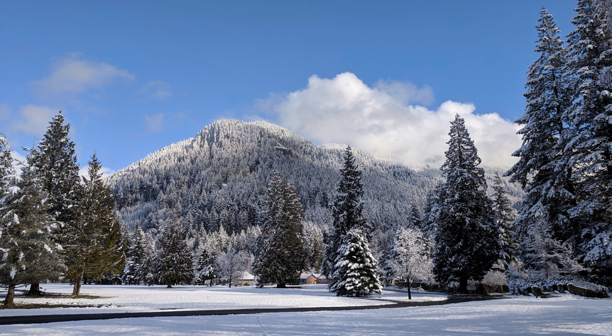 Hunchback Mountain at the Mt. Hood Oregon Resort in Welches Oregon