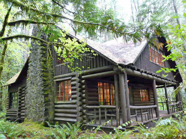 Mt Hood Steiner Log Cabin For Sale Liz Warren Mt Hood