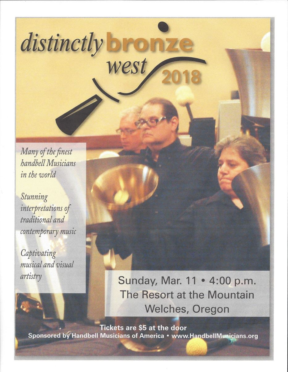 Resort at the Mountain Bell Ringing Event March 11, 2018 Welches, Oregon